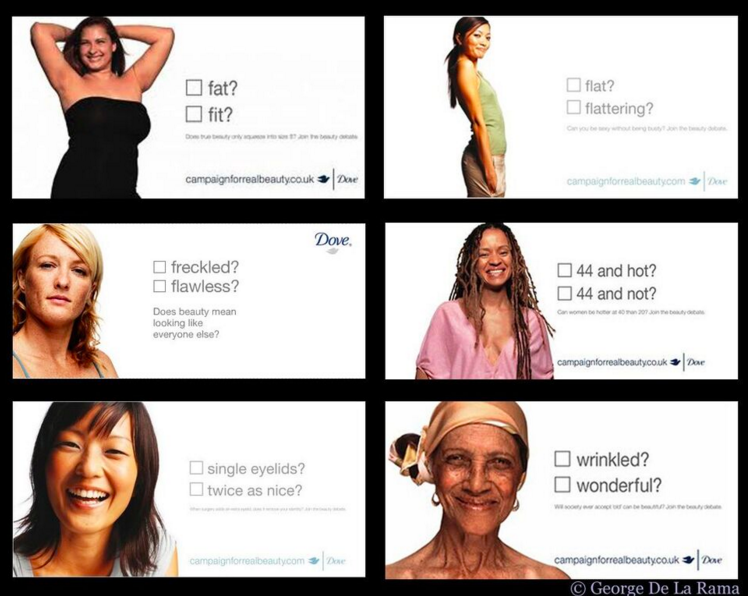 dove real beauty campagn Without a doubt, the dove real beauty campaign has been a successful one for the brand and by prompting us to have the discussion about the narrow and oftentimes unrealistic standard of beauty for women, the campaign should be commended but what started out as a positive campaign has turned into.